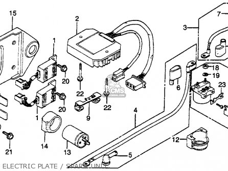 wiring diagram 1982 honda gl500 interstate ignition wiring diagram 1986 honda atv 200 #15