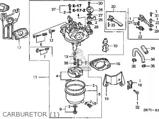 honda gx120 engine diagram honda gx120 ar 14zk7403 parts lists and schematics  honda gx120 ar 14zk7403 parts lists and
