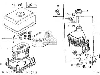 honda gx120 engine diagram honda gx120 qx26 14zh70e5 parts lists and schematics  honda gx120 qx26 14zh70e5 parts lists