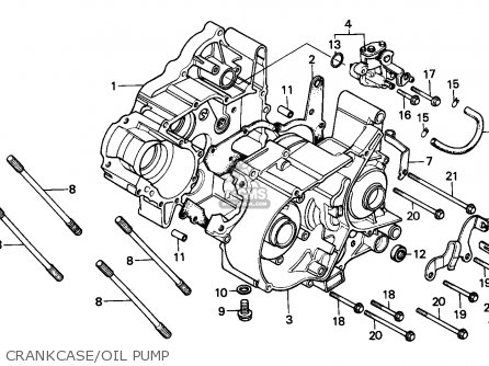 Honda H100 Wiring Diagram