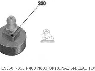 LN360 N360 N400 N600 OPTIONAL SPECIAL TOOLS - LN360 N360 N400 N600 OPTIONAL SPECIAL TOOLS