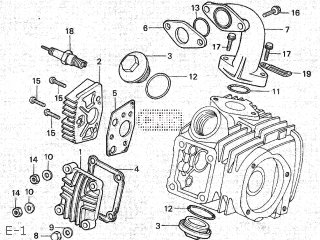 Honda MD90 1987 (H) JAPAN MD90-190 200 parts lists and schematics