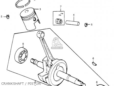 Remarkable Honda Mr50 Elsinore 1975 K1 Usa Parts Lists And Schematics Wiring Database Gramgelartorg
