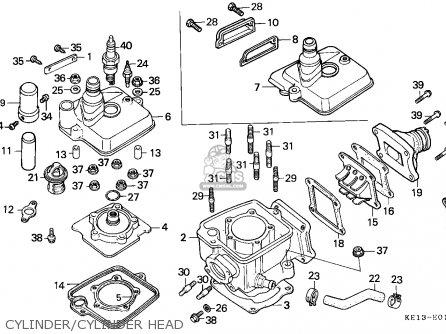 honda mtx125rw 1983 d belgium parts lists and schematics rh cmsnl com Motor Honda 125 Honda CM 125