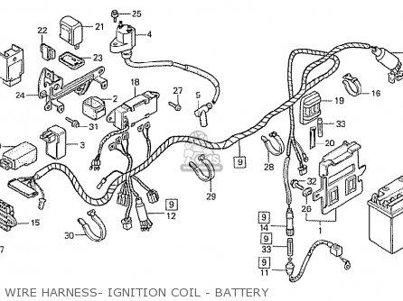 Honda Mtx50rfd Belgium Parts Lists And Schematics