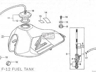Entlüfterschraube BREMSSATTEL delante m8x1.25 v4a Honda MBX 80 SW 1982-83