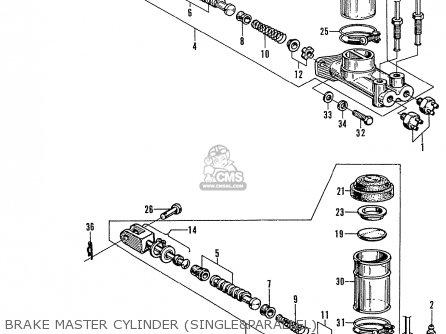 Honda N600 Coupe Stationwagon kg Kf Ke Kb Kq Ks Kj Kp Kd Kt Ku Brake Master Cylinder singleparallel