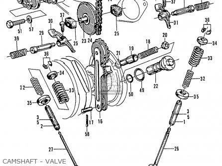 Honda N600 Coupe Stationwagon kg Kf Ke Kb Kq Ks Kj Kp Kd Kt Ku Camshaft - Valve