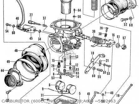 Honda N600 Coupe Stationwagon kg Kf Ke Kb Kq Ks Kj Kp Kd Kt Ku Carburetor 600cc  N600 ~1033028 a600 ~5002463