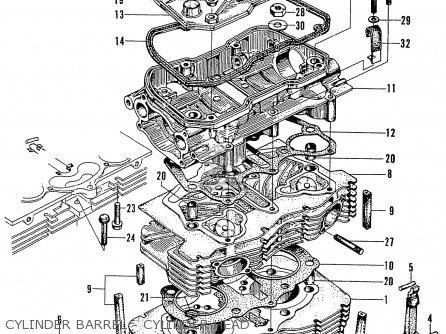 Honda N600 Coupe Stationwagon kg Kf Ke Kb Kq Ks Kj Kp Kd Kt Ku Cylinder Barrel - Cylinder Head