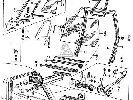 Honda N600 Coupe Stationwagon kg Kf Ke Kb Kq Ks Kj Kp Kd Kt Ku Door 1
