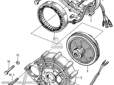 Honda N600 Coupe Stationwagon kg Kf Ke Kb Kq Ks Kj Kp Kd Kt Ku Generator 600cc