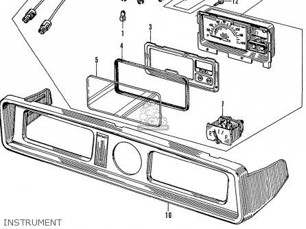 Honda N600 Coupe Stationwagon kg Kf Ke Kb Kq Ks Kj Kp Kd Kt Ku Instrument