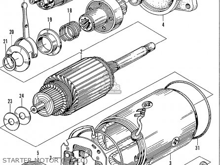 Honda N600 Coupe Stationwagon kg Kf Ke Kb Kq Ks Kj Kp Kd Kt Ku Starter Motor 600cc