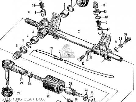 Honda N600 Coupe Stationwagon kg Kf Ke Kb Kq Ks Kj Kp Kd Kt Ku Steering Gear Box