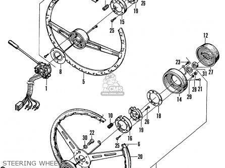 Honda N600 Coupe Stationwagon kg Kf Ke Kb Kq Ks Kj Kp Kd Kt Ku Steering Wheel