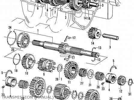 Honda N600 Coupe Stationwagon kg Kf Ke Kb Kq Ks Kj Kp Kd Kt Ku Transmission manual