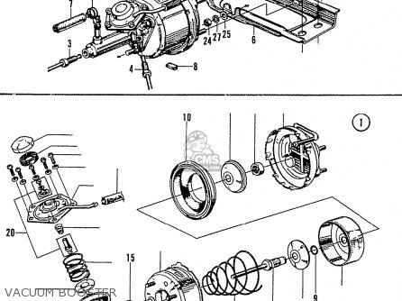 Honda N600 Coupe Stationwagon kg Kf Ke Kb Kq Ks Kj Kp Kd Kt Ku Vacuum Booster