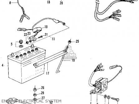 honda n600 sedan 1970 2dr (ka) parts list partsmanual ... honda n600 wiring diagram