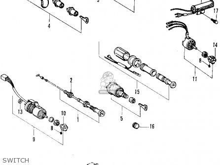 honda n600 sedan 1970 2dr (ka) parts list partsmanual ... coils for honda cb750 wiring diagram honda n600 wiring diagram