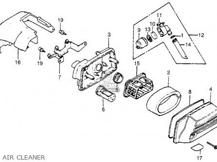 honda na50 expressii 1979  z  usa parts list partsmanual