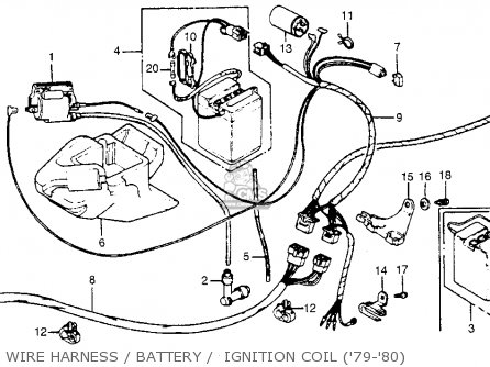 Honda Wiring Harnes Diagram