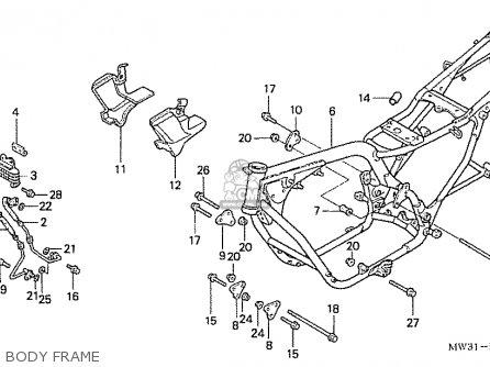 Honda Nas750m Rc39 Japanese Domestic Body Frame