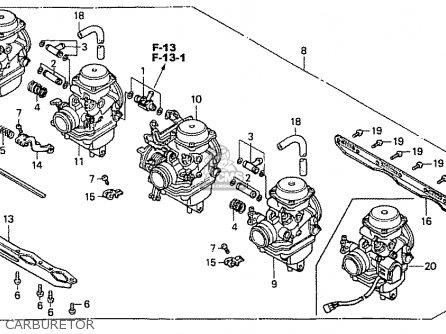 Honda Nas750m Rc39 Japanese Domestic Carburetor