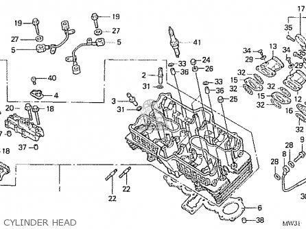 Honda Nas750m Rc39 Japanese Domestic Cylinder Head