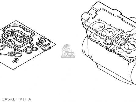 Honda Nas750m Rc39 Japanese Domestic Gasket Kit A