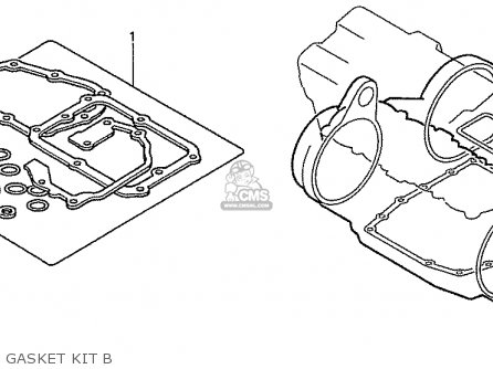 Honda Nas750m Rc39 Japanese Domestic Gasket Kit B
