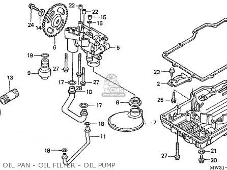 Honda Nas750m Rc39 Japanese Domestic Oil Pan - Oil Filter - Oil Pump