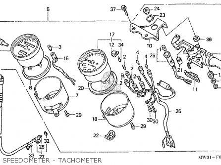 Honda Nas750m Rc39 Japanese Domestic Speedometer - Tachometer