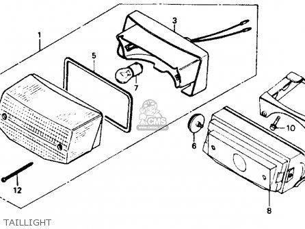 honda nb50 aero 50 1986  g  usa parts list partsmanual