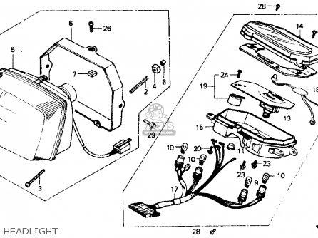 honda nb50 aero 50 1986 usa headlight_mediumhu0239n239a_37b1 honda cb750 custom parts free image about wiring honda find,06 Honda Shadow Aero 750 Wiring Diagram