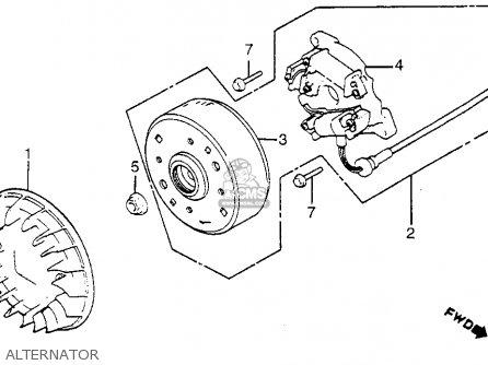 honda nb50m aero 50 1983  d  usa parts lists and schematics