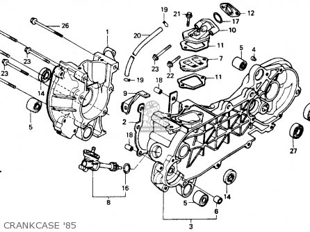 49cc Scooter Engine Diagram Gasket