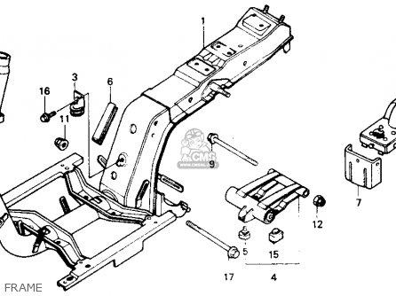 honda nb50m aero 50 1985  f  usa parts list partsmanual