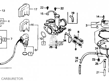 Echo Weed Eater Parts Diagram moreover Carb pics moreover Engine Parts List 1 further Dodge 360 2 Bbl Engine Diagram as well Briggs   Stratton Engine Wiring Diagram. on honda express carburetor diagram