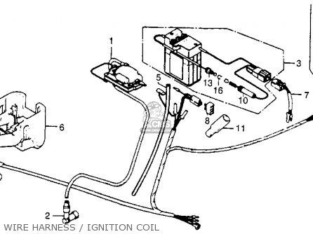 Honda NC50 EXPRESS 1979 (Z) USA WIRE HARNESS / IGNITION COIL - buy WIRE  HARNESS / IGNITION COIL spares onlineCmsnl.com