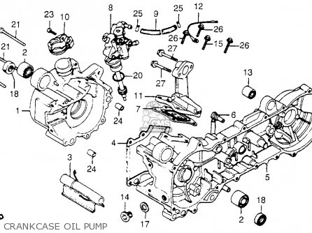 Honda 50 Clutch Diagram