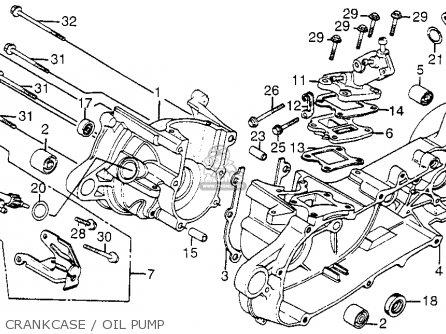 honda nh80 aero 80 1985 f usa parts list partsmanual partsfiche