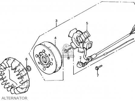 Honda Nq50 Spree 1986 (g) Usa parts list partsmanual ...