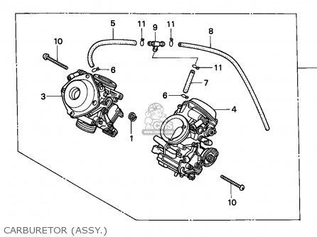Honda Nv400c Steed 1995 s Singapore   Kph Carburetor assy