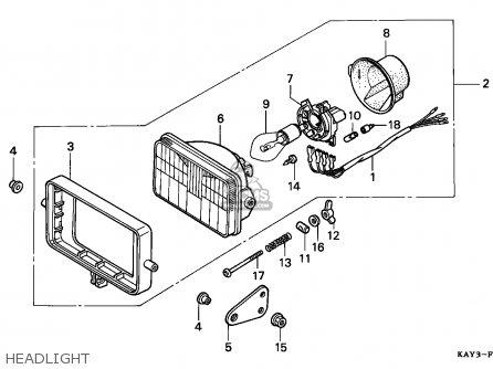 honda nx125 transcity 1989  k  italy parts lists and
