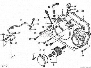 Honda NX250 AX-1 1994 (R) JAPAN parts lists and schematics on