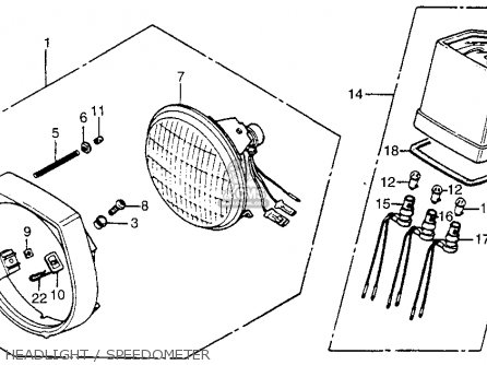 1981 honda cm200t twin star parts 1980 honda twin star wiring diagram honda  v twin motorcycle
