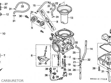 Honda Nx650 Dominator 1988 England   Mkh Carburetor