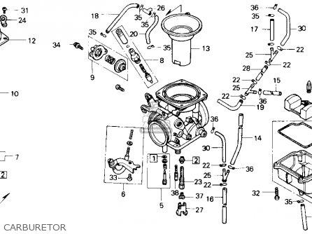 honda nx650 dominator 1988  j  usa parts lists and schematics