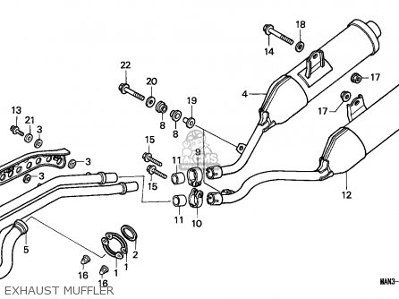 Honda Motorcycle Fuel Tank